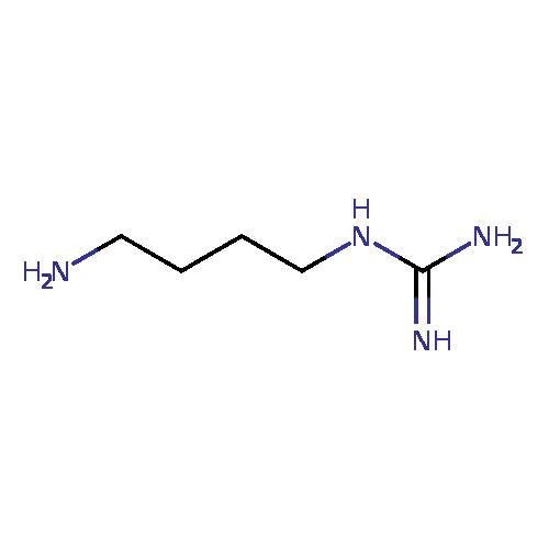 ECMDB: Agmatine (ECMDB01432) (M2MDB000385)